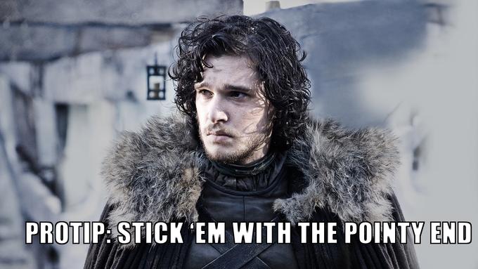 Jon Snow PROTIP