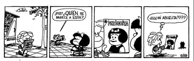Meanwhile in Mafalda's comic strip...