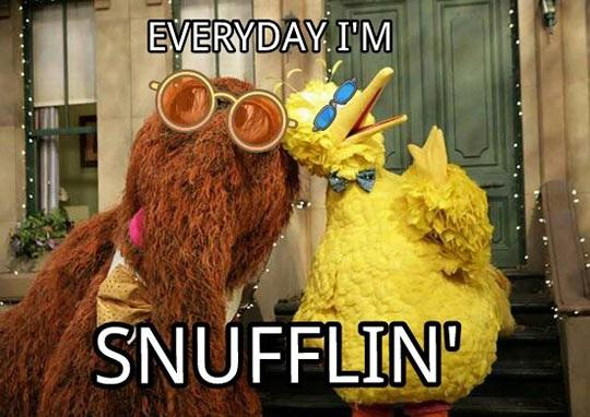 Snufflin'