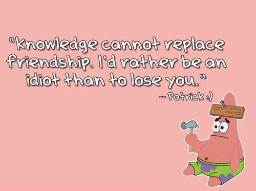 Spongebob And Patrick Friendship Quotes Tumblr: Spongebob best ...
