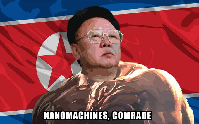 Nanomachines, comrade