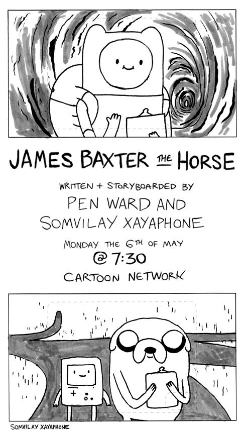 James Baxter the Horse Promo Art