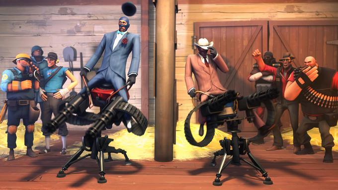 Sentry riding contest
