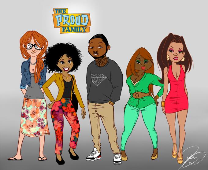 The Proud Family Enhanced