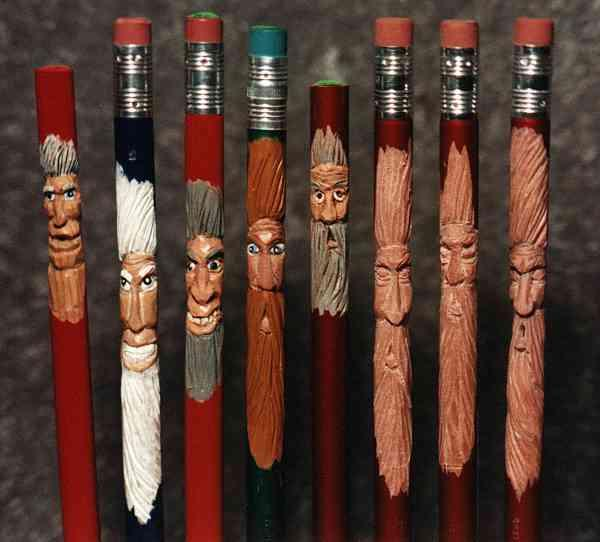 pencil carving art know your meme