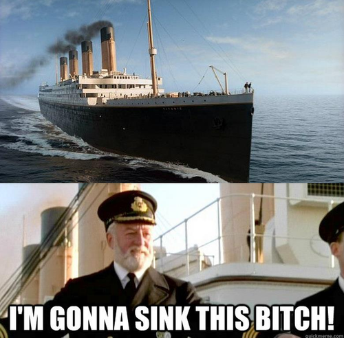If Titanic were a Comedy...