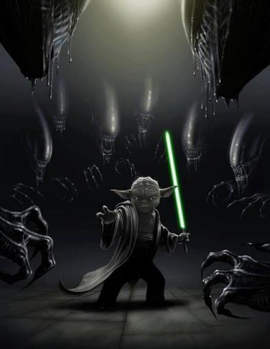 Aliens Versus Star Wars