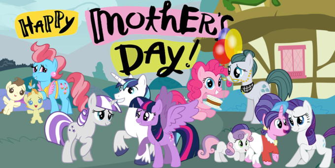Happy Mother's Day in Ponyville