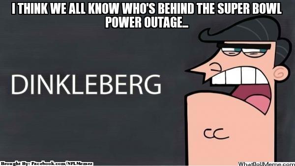 Super Bowl power out?