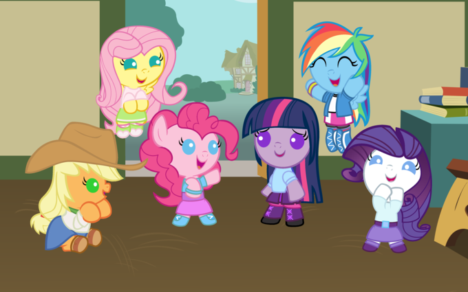 Age-Regressed Ponified Anthromorphisized Ponies