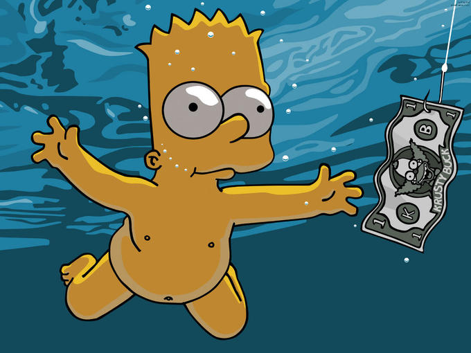 Nevermind by The Simpsons
