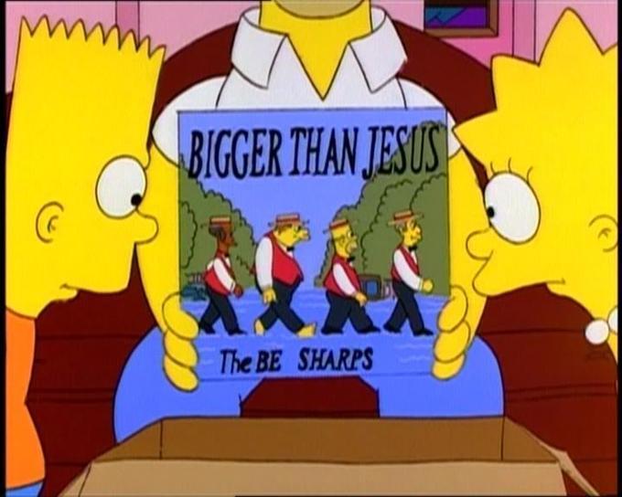 The Be Sharps - Bigger Than Jesus
