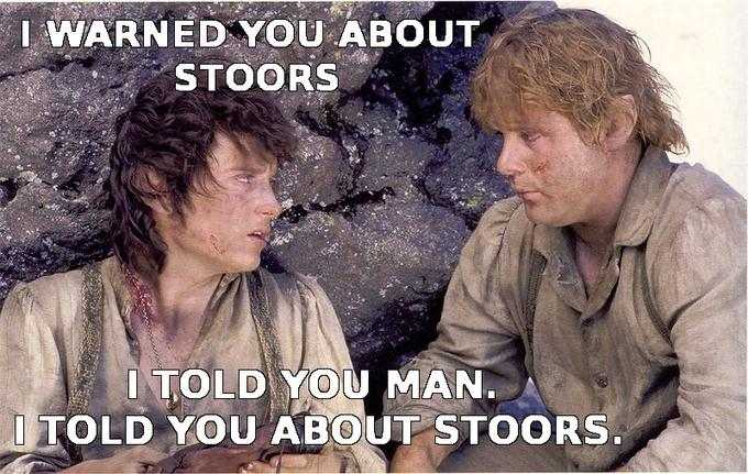 I told you about stoors