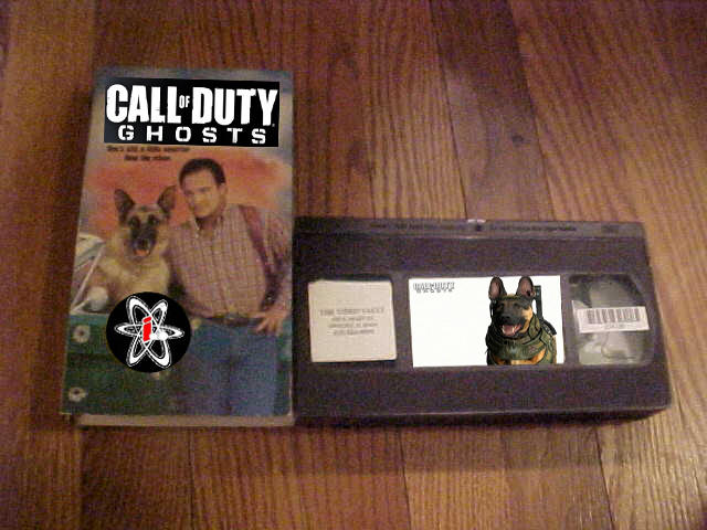 Call of Duty: Ghost on VHS