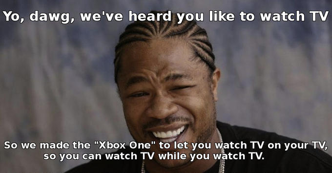 """Xbox One"" in a nutshell"