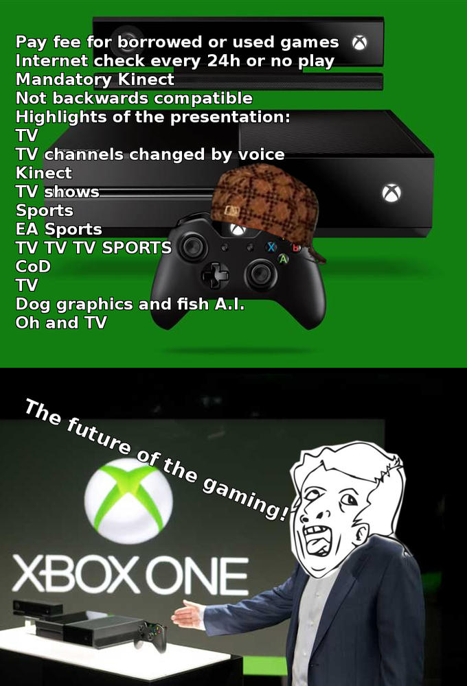 """Xbox One"" - The gaming of the future, ladies and gentlemen..."