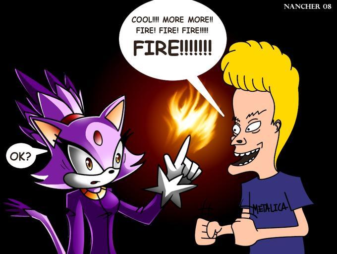 Blaze and Beavis