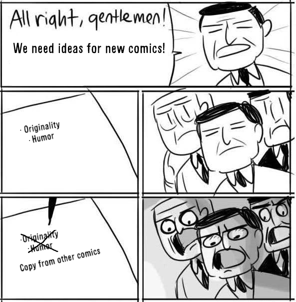 New ideas for comics