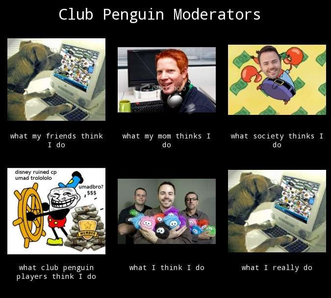 Club Penguin Moderators