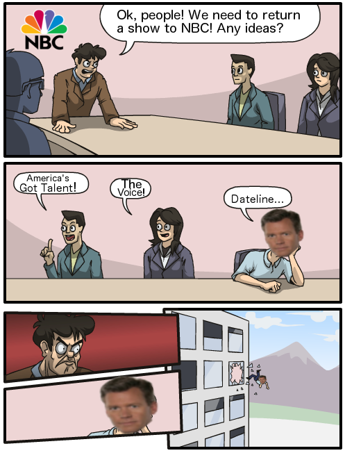 NBC Boardroom (Starring Chris Hansen)