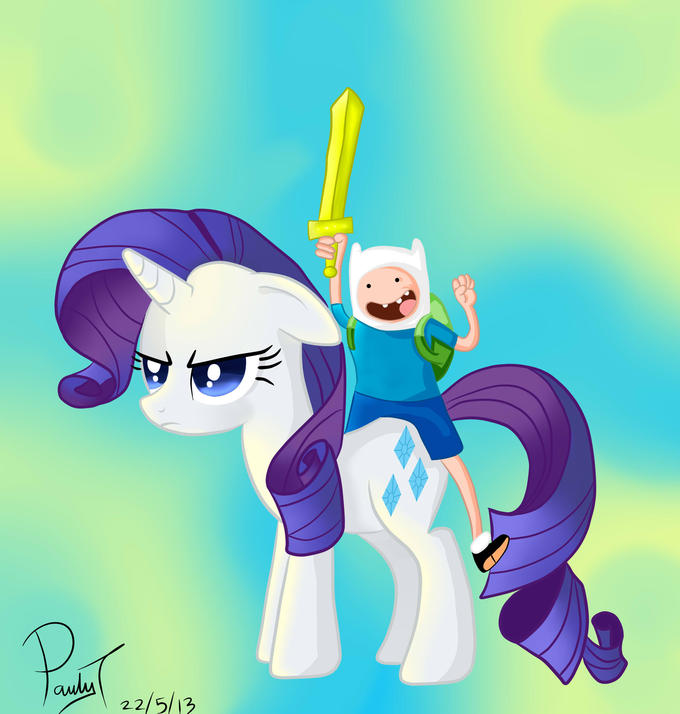 Hey rarity What time is it. Please get off