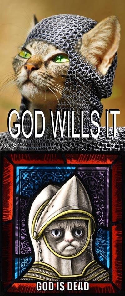 God Wills Grumpy Cat