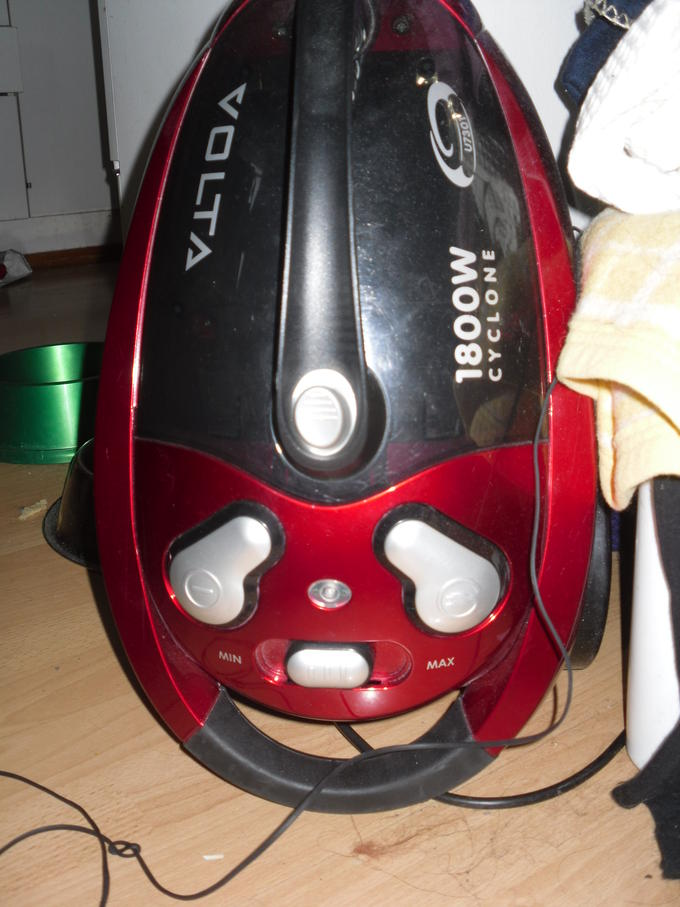 Vacuum is happy to see you