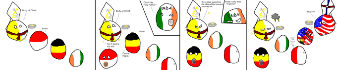 Vaticanball and Catholic Countries