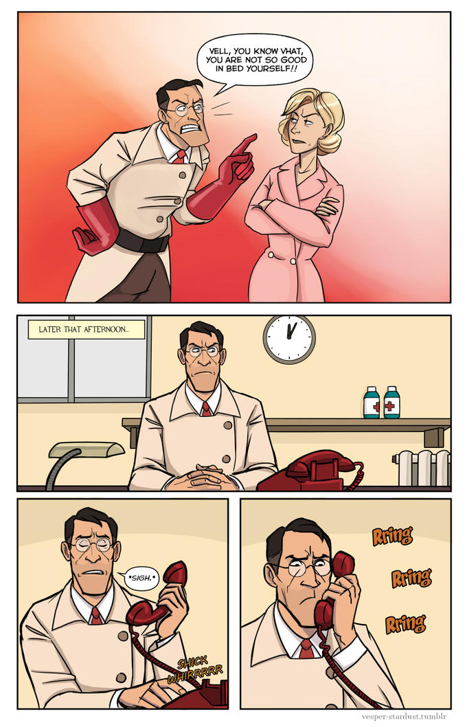 Medic's wife page 1