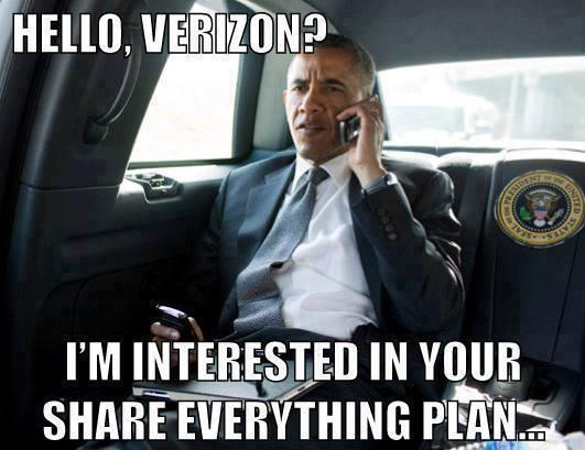 Verizon's Share Everything Plan