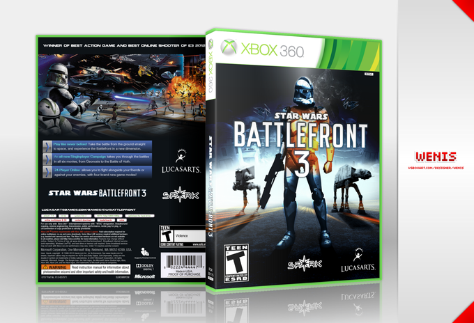 Star Wars Battlefront/Battlefield 3