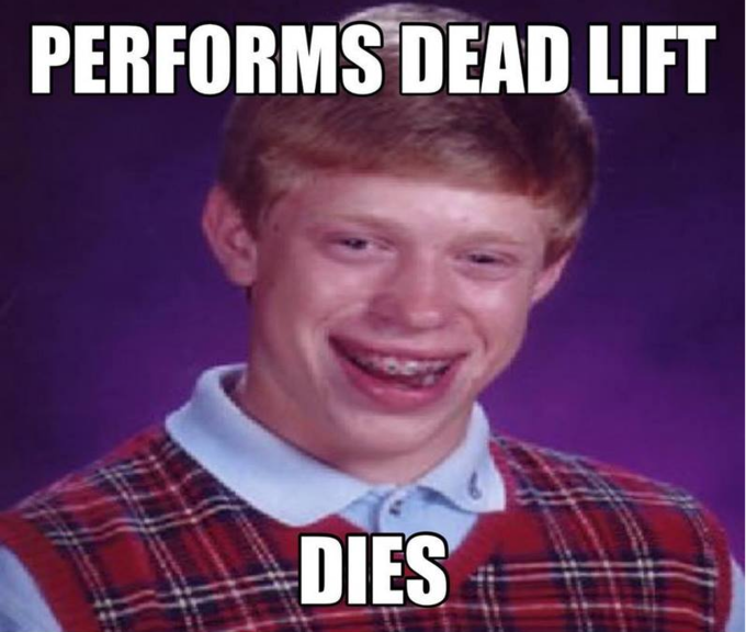 Bad Luck Brian workout
