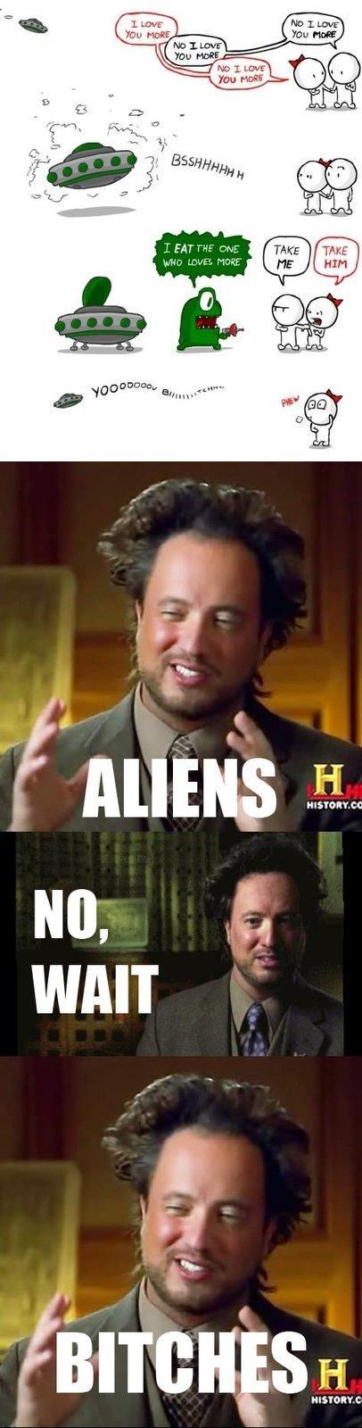 The Alien-Friendzone