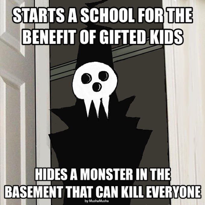 Builds a School...