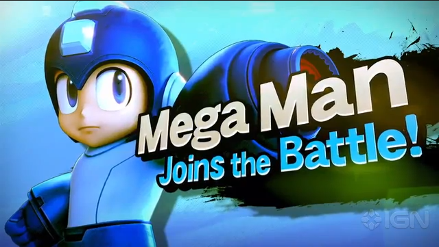 Mega Man finally joins Super Smash Bros