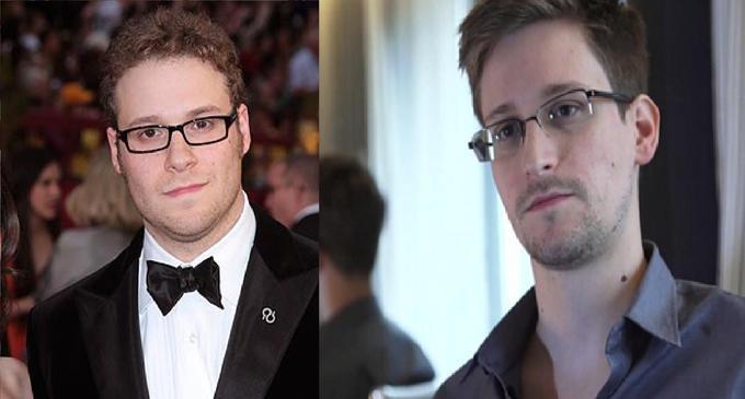 Seth Rogen should play Edward Snowden in the movie