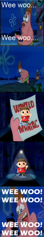 Villager Maniac Wanted