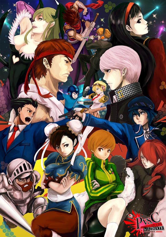 Persona VS Capcom