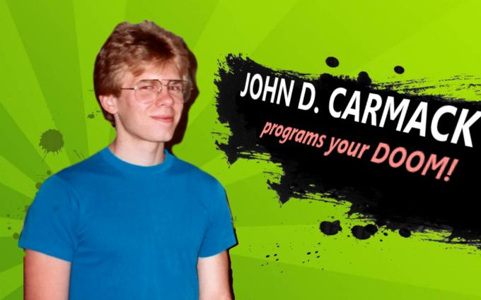 John D. Carmack Enter the Arena