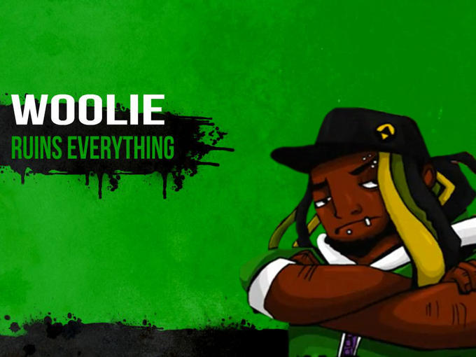 Challenger Approaching! : Woolie
