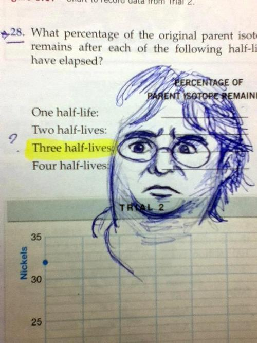 Three Half-lives