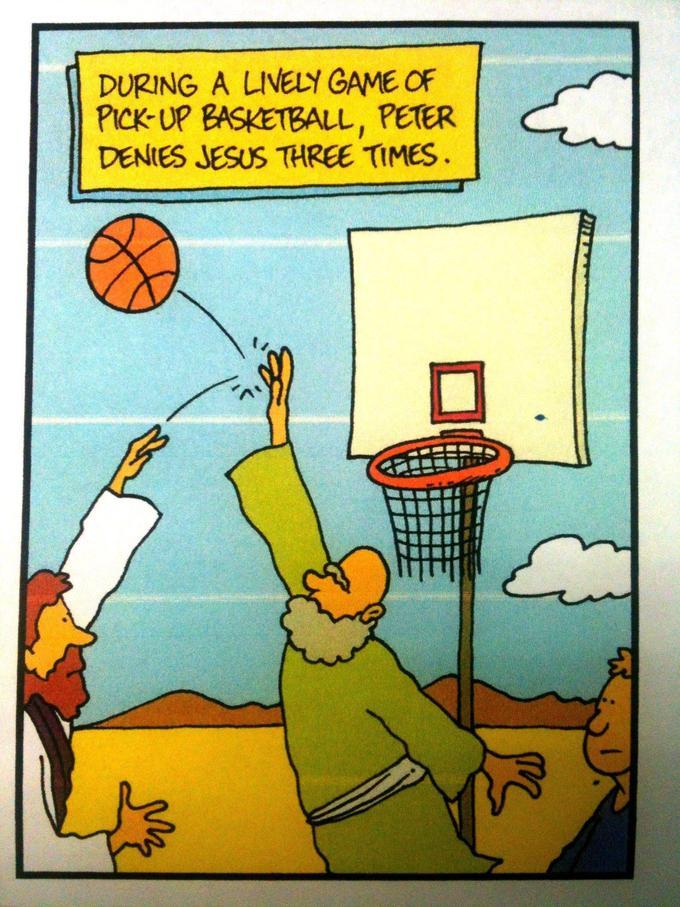 Peter Denies Jesus