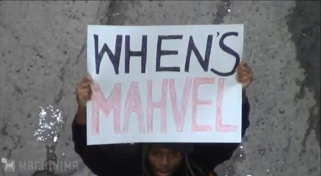 WHEN'S MAHVEL?!