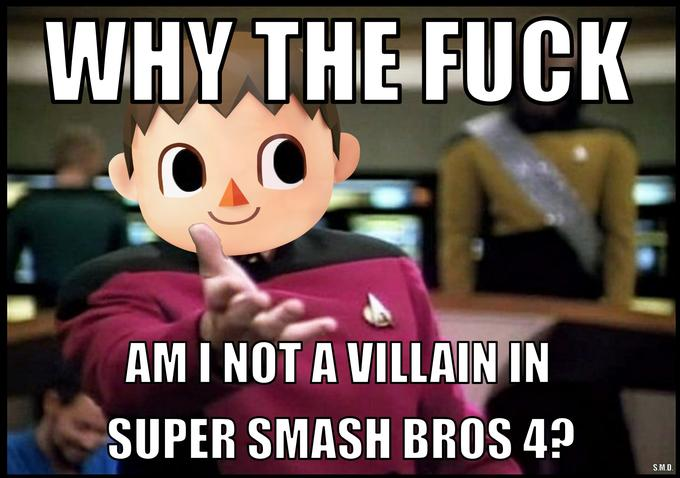 "Villager ""Why the fuck"""