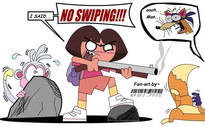 Swiper, no swiping! (part 2)