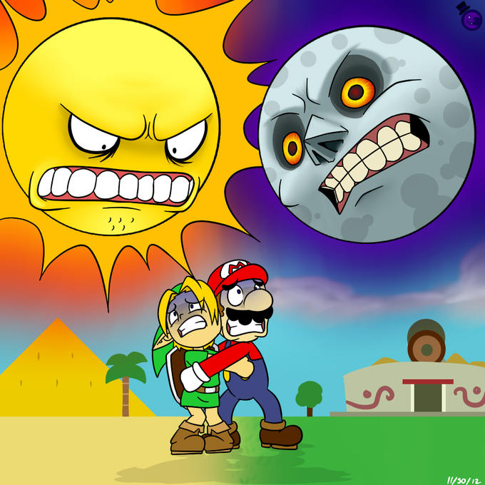 Scary Sun and Moon