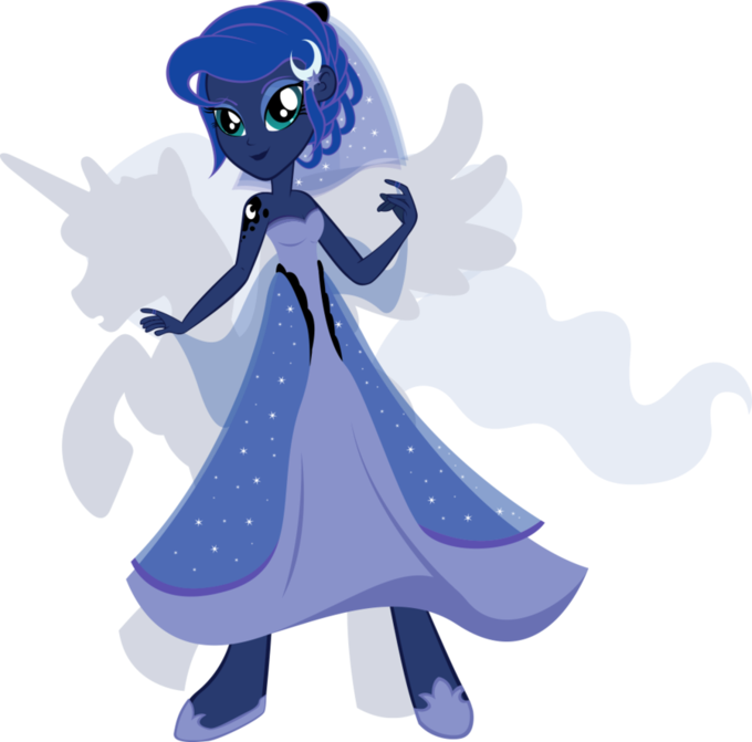 Equestria Girls - Princess Luna