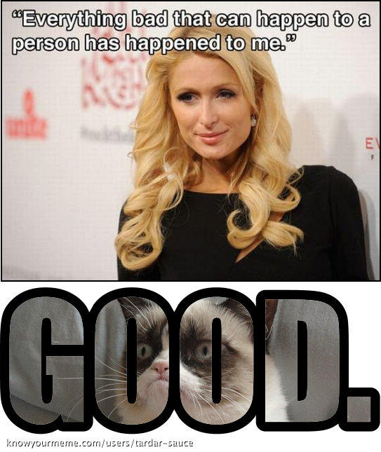 Paris Hilton melodramatic loser