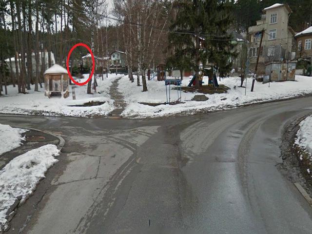 Slender-man noticed near Bulgaria