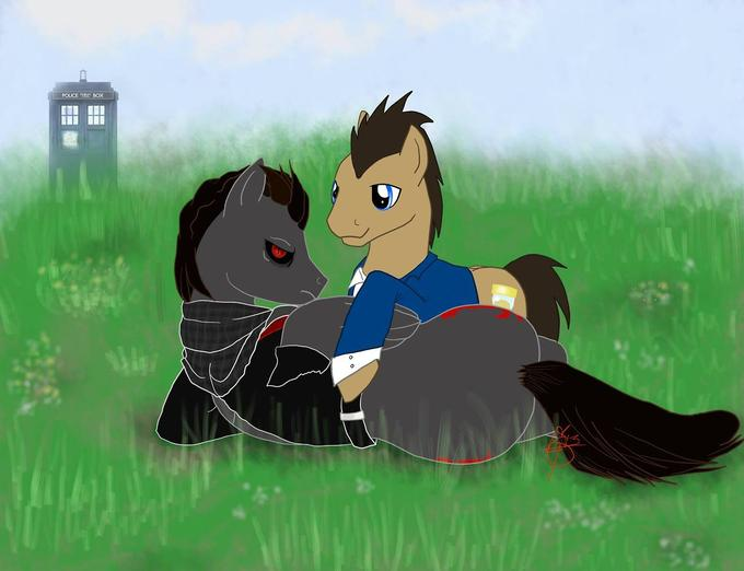 Alex Mercer X Doctor Whooves ship? Meh dunno what to say, just posting..
